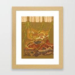 Argia Framed Art Print