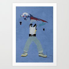 Riku Art Print
