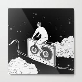 Slow Ride Metal Print