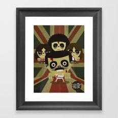 queen zombie 2 Framed Art Print