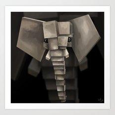 Elephant² Art Print