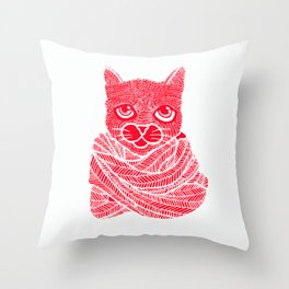 It's a Cat-Wrap Throw Pillow