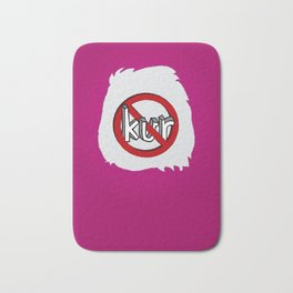 Dun Kur Bear [Don't Care Bear Pink] Bath Mat