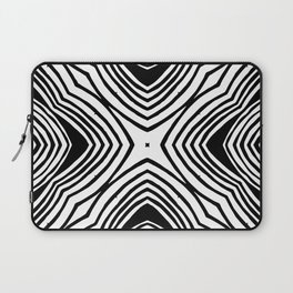 Converging pattern Laptop Sleeve