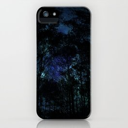 Galaxy Forest iPhone Case