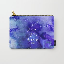 Aquarius Constellation Carry-All Pouch