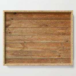 Wood texture timber tree felling Serving Tray