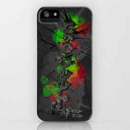 Fragments of freedom iPhone Case