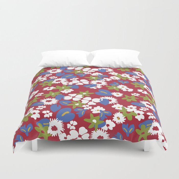 Modern Bold Liberty Print Duvet Cover By Annelafollette Society6