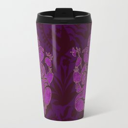 Ganesha Elephant God Purple And Pink Travel Mug