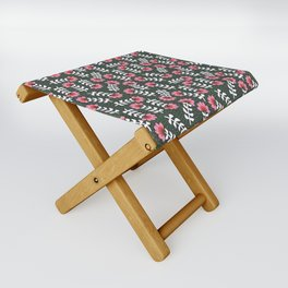 Camelita Retro Folk Flower Folding Stool