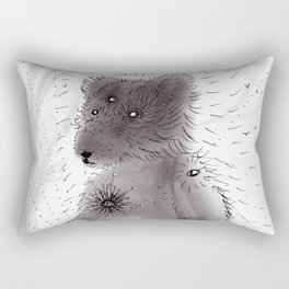 Bear Spirit Rectangular Pillow