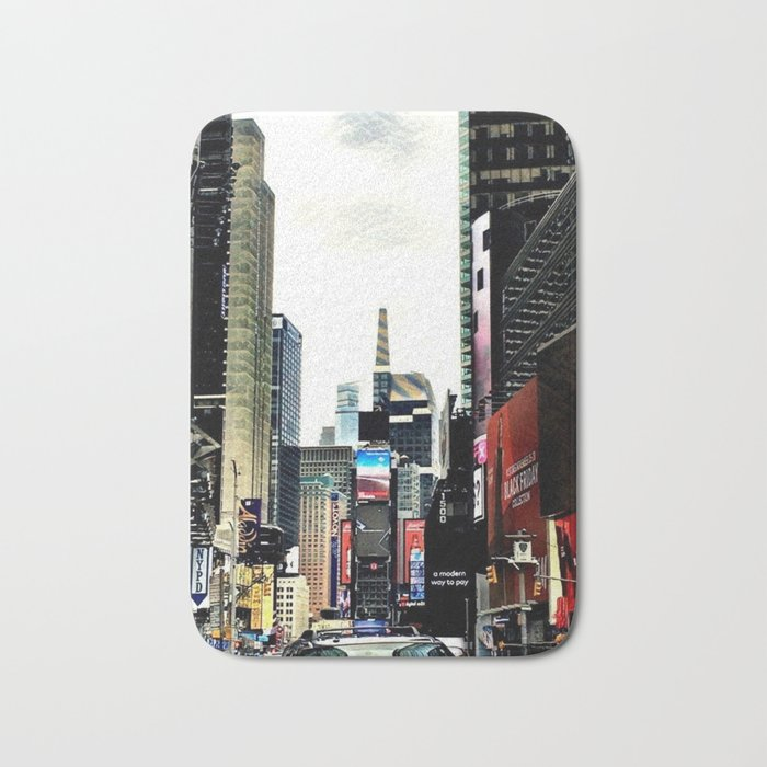 Downtown New York City Bath Mat