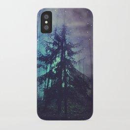 luminous forest iPhone Case