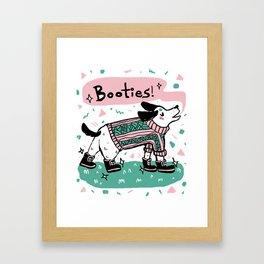 Pastel Pup Framed Art Print