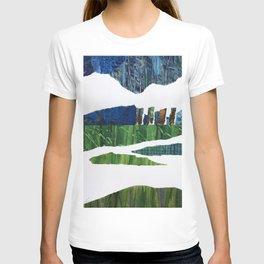 On the Horizon #horizon #collage T-shirt