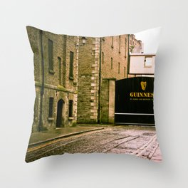 St James Gate Throw Pillow