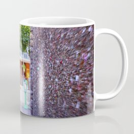 Emergency Exit Bubblegum Alley San Luis Obispo Coffee Mug
