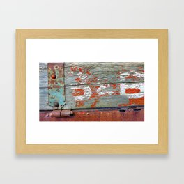 B&B Framed Art Print