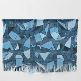Origami whales Wall Hanging