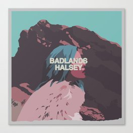 Badlands Halsey Canvas Print