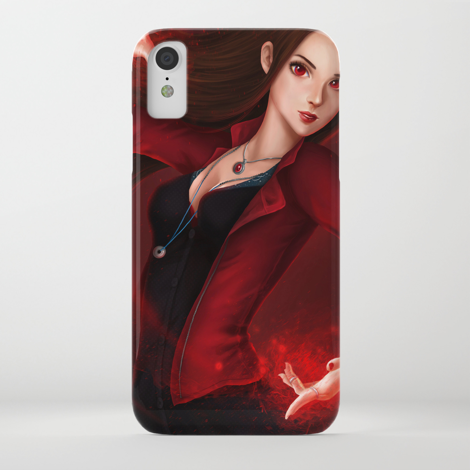 finest selection aa79c fbfe9 Scarlet Witch/Wanda Maximoff iPhone Case