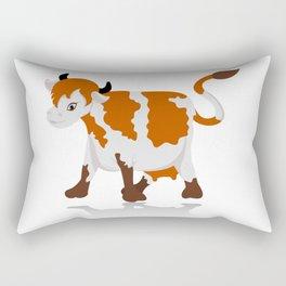 Cartoon cow Rectangular Pillow