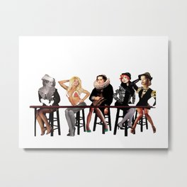A Fever You Can't Sweat Out Metal Print