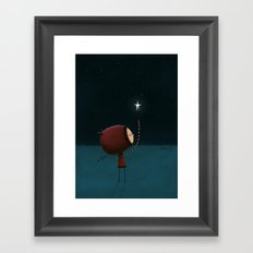 What if Framed Art Print