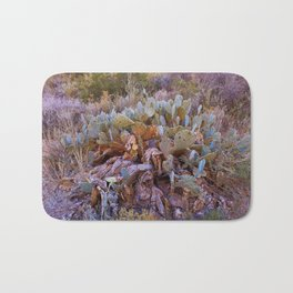 Lifecycle of Prickly Pear Cactuses Bath Mat