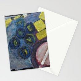 Still life with a banana Stationery Cards