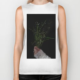 I Brought You Wildflowers But All You Saw Were Weeds Biker Tank