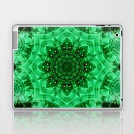 Malachite Star Mandala Laptop & iPad Skin