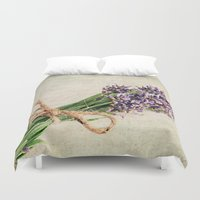 lavender Duvet Covers featuring Lavender by ThePhotoGuyDarren