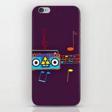 Radio Active musical waves iPhone & iPod Skin