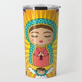 La Virgen de Guadalupe Travel Mug