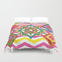 easter Duvet Covers featuring Easter by Smiley's Dreamboat