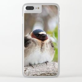 A well deserved break Clear iPhone Case