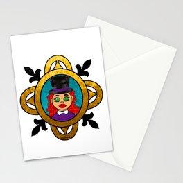 Purple Steampunk Maman Brigitte Stationery Cards