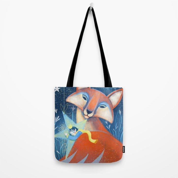 the prince&the fox Tote Bag