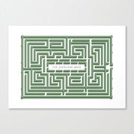 The Overlook Maze Canvas Print