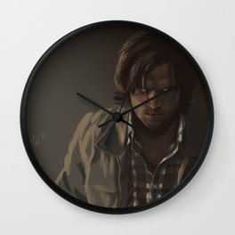 Ezekiel. Sam Winchester Wall Clock