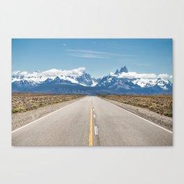 El Chaltén - Patagonia Argentina Canvas Print