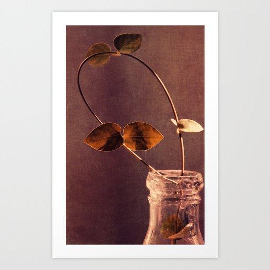 brown  Art Print