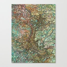 On the Wave of a Wind Canvas Print