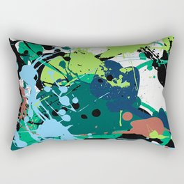 Splatter Rectangular Pillow