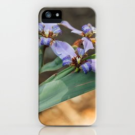 Wildflower Walks iPhone Case