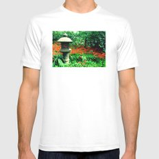 Japanese Tea Garden Mens Fitted Tee SMALL White