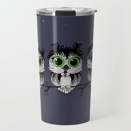 Three Little Owls Travel Mug