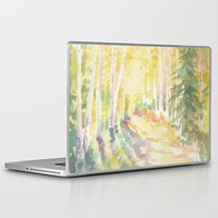forrest Laptop & iPad Skins featuring Forrest by Susie McColgan